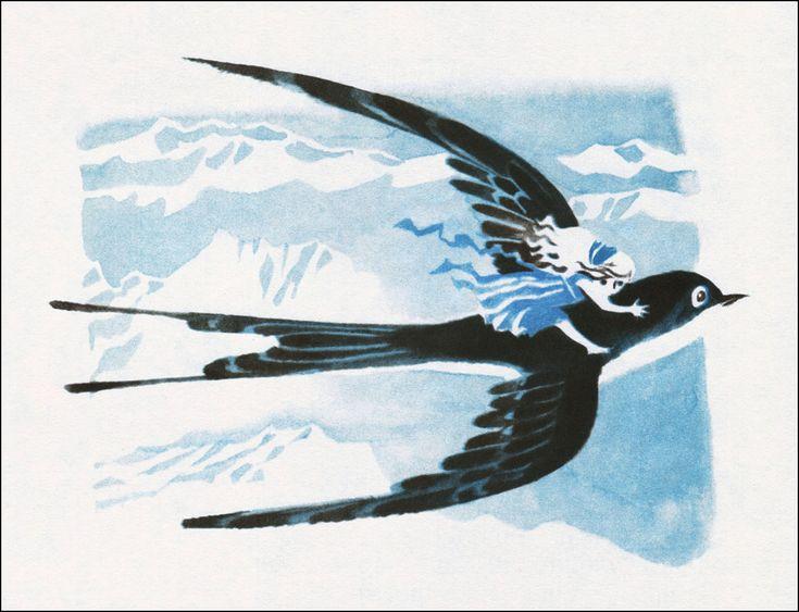 Hans Christian Andersen. Thumbelina. Illustrator Nika Goltz, 1978.