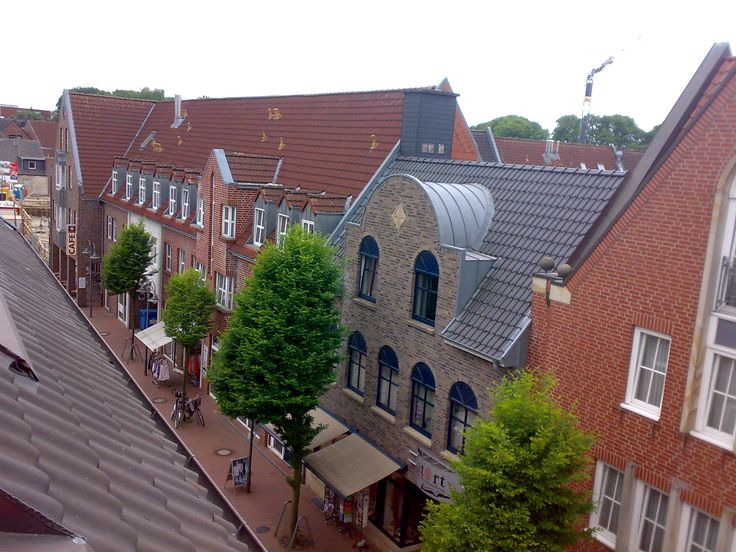 Houses and Street in Meppen