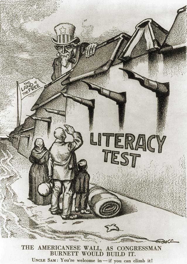 political art | 1916 Political Cartoon Entitled The Fine Art Print The power of words
