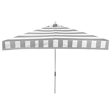 Portofino Umbrella - Grey | Outdoor | Z Gallerie
