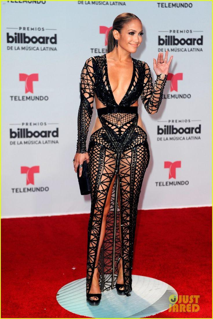 Jennifer Lopez Bares Killer Figure in Cut-Out Dress at Billboard Latin Music Awards 2017