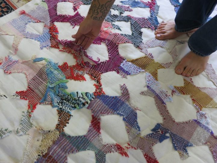 Travis Meinolf Impossible Project Husk Blanket