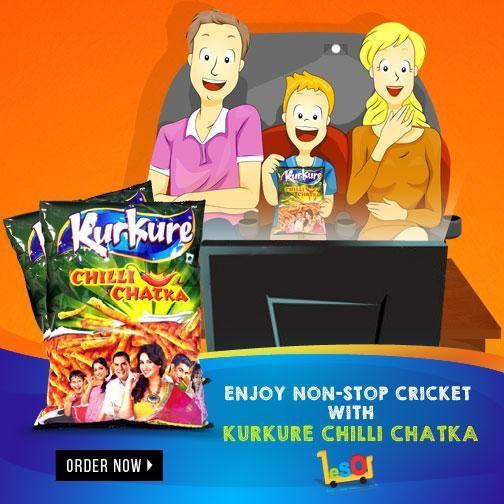 Get the chatka with the relishable taste of #KurkureChilliChatka Namkeen ! http://ow.ly/LK1DN