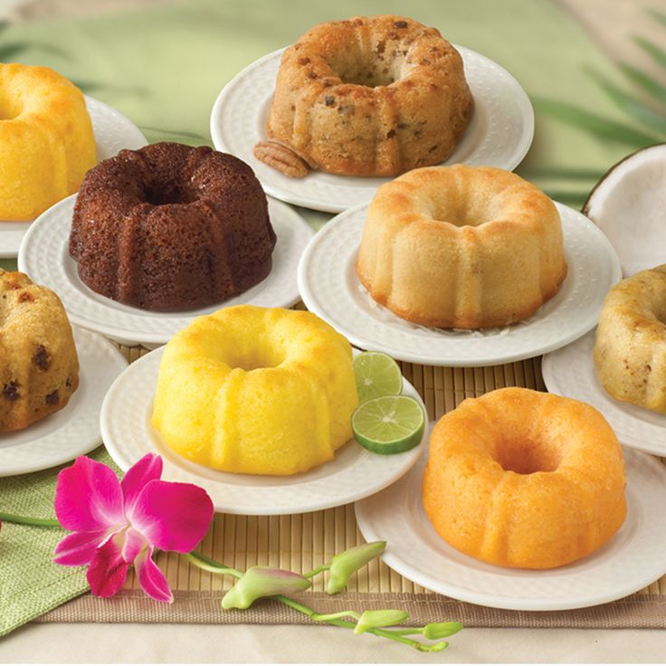 Pick one for whatever mood strikes you, but each will take you to a blissful place. Assortment includes eight 4-ounce mini bundt cakes individually wrapped for freshness and boxed. Includes one of eac More
