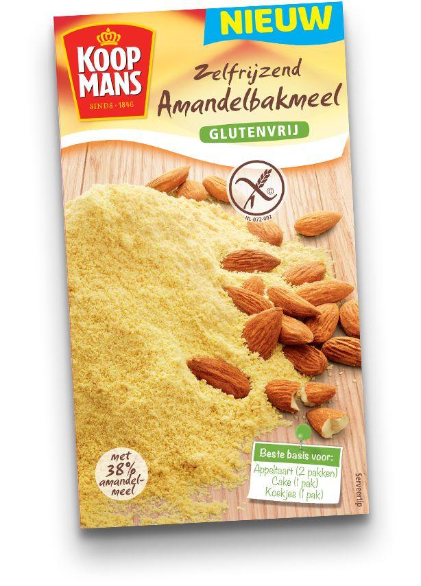 Met Koopmans Zelfrijzend Amandelbakmeel bak je eenvoudig heerlijke, zoete baksels vanaf de basis. Zelfrijzend Amandelbakmeel is glutenvrij.