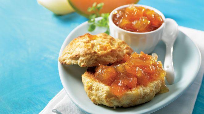 Confiture de melon à la vanille   Recettes IGA   Déjeuner, Brunch, Recette facile