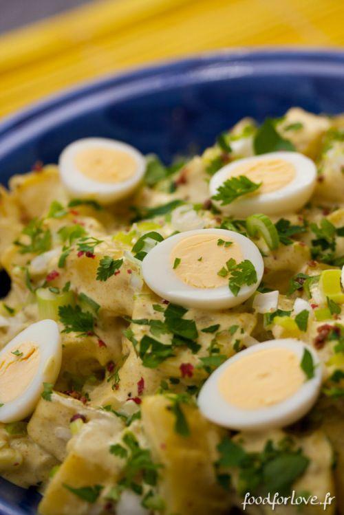 Salade de Pommes de Terre à lIndienne