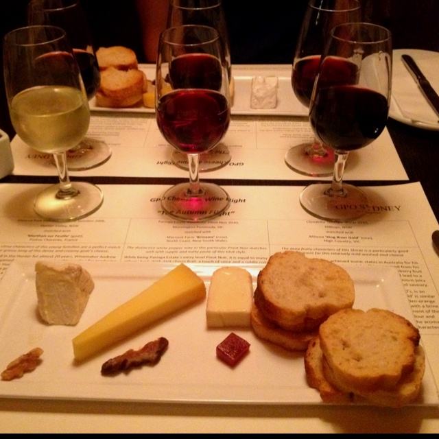 GPO Wine and Cheese