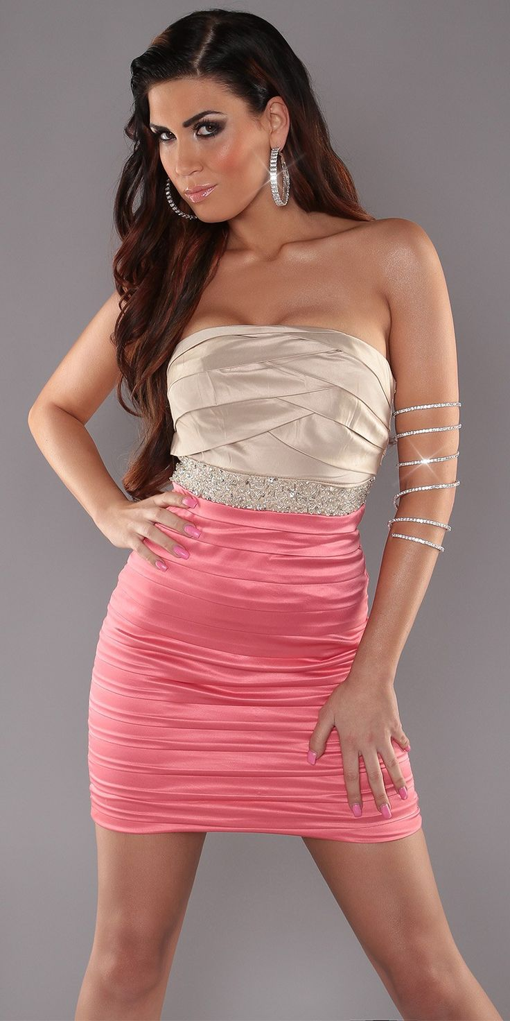 39 best Mini Vestidos images on Pinterest   Mini dresses, Short prom ...