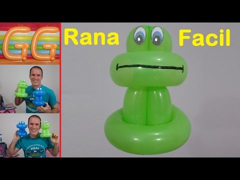 como hacer un cisne con globos largos - tutorial globoflexia - cisne facil - YouTube
