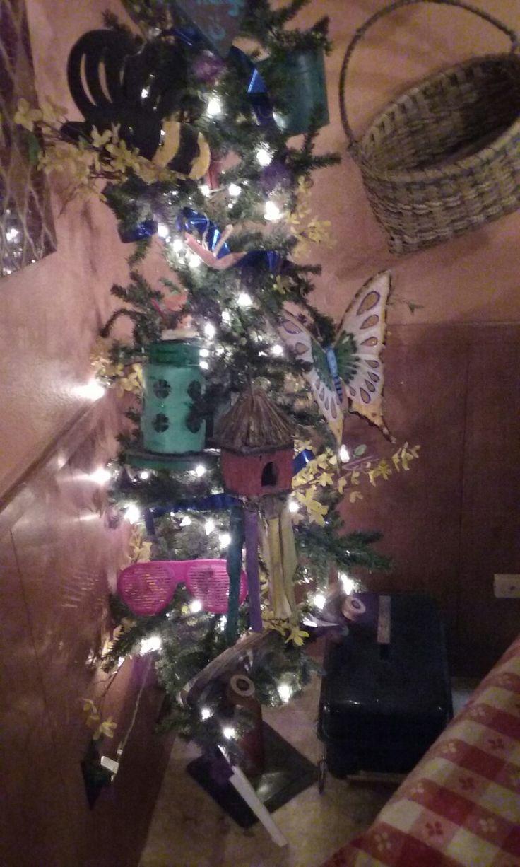 Festive Summer Lighted Tree