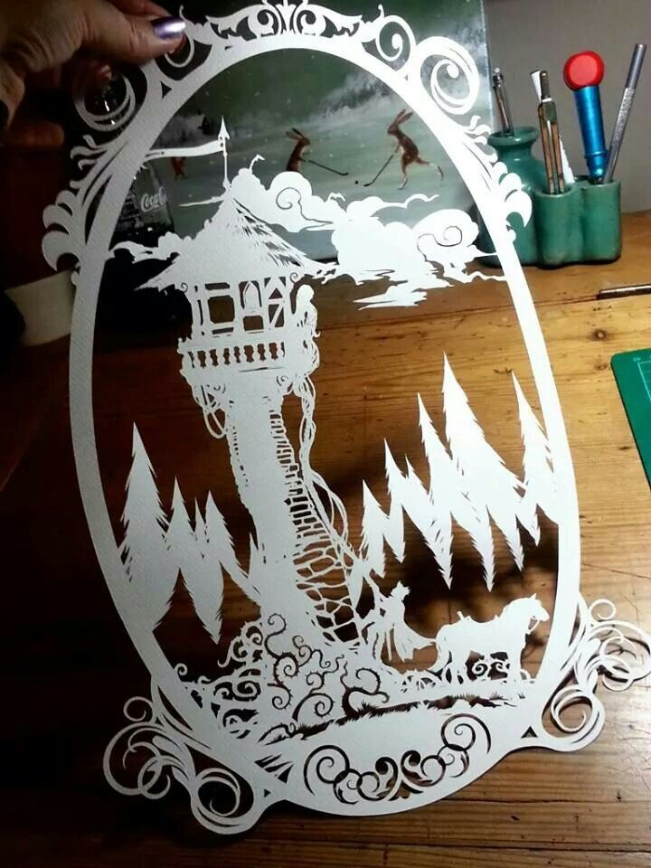 Papercut by paperpanda