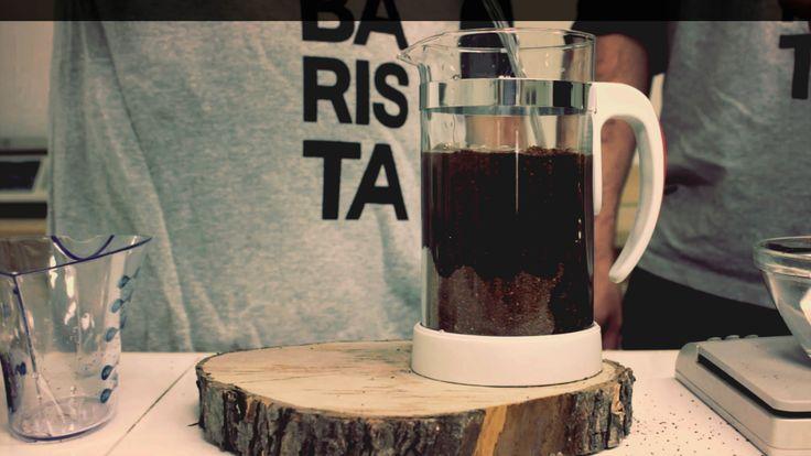 Faire du café infusé à froid à la maison: simple comme bonjour! Via @baristamtl
