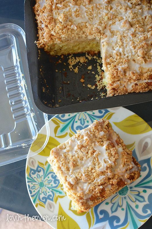 Meyer Lemon Coffee Cake | Recipe