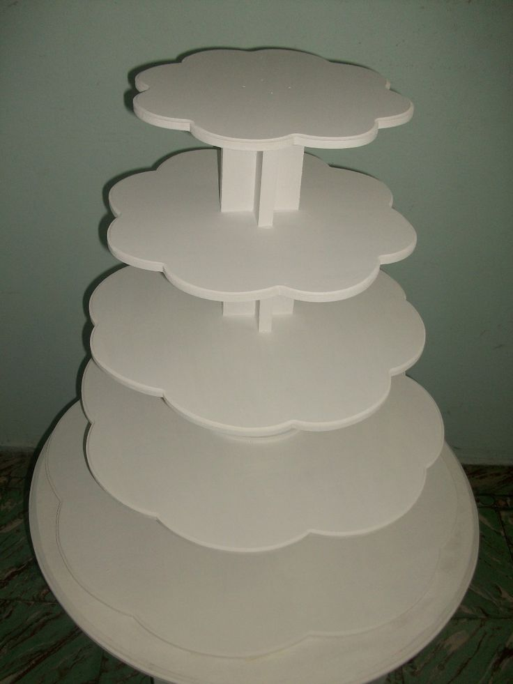 Torre de cinco bases para cupcakes muffins 300 00 en - Bases para cupcakes ...