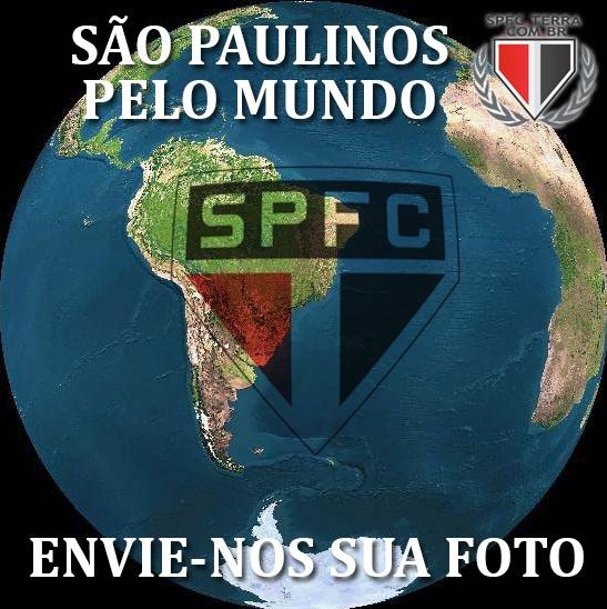 Vamos mostrar que o SPFC está em todos os lugares - SPFC.Net (postado por Thiago dos Reis SPFC.Net )