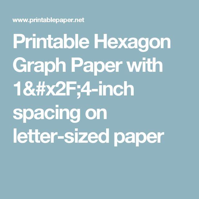 hexagons -  - hexagon graph paper