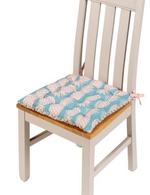 Tropical Floral Seat Pad   M&S