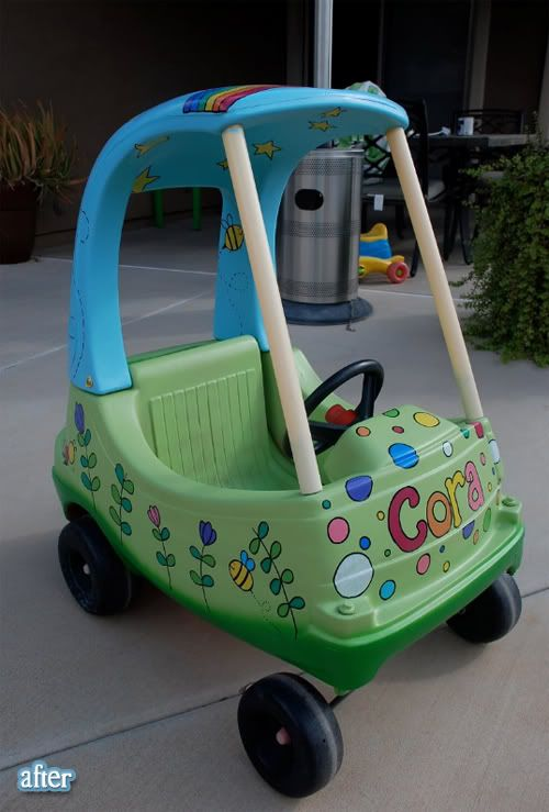 we scored one of these coupes at the goodwill for 3 dollars today gonna paint