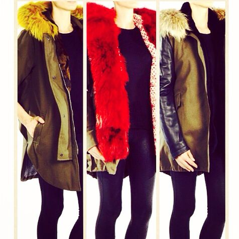 Top Fur Parka Forte Couture