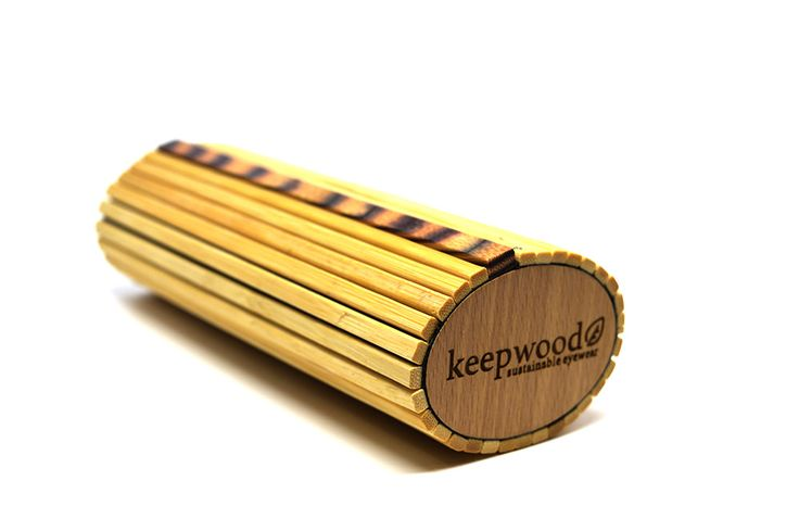 Keepwood Bamboo Optical Case