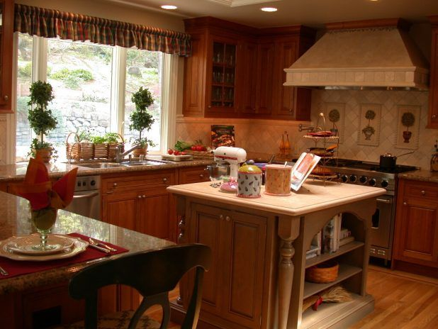 Dazzling french country kitchen beige wood table of drawer and white countertop using sink steel faucet and black stove up oven also wooden flooring design in the home ideas
