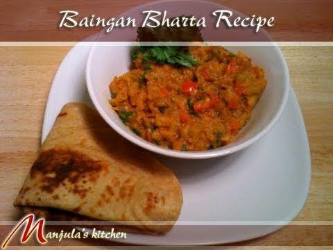 Baingan Bharta (Eggplant Curry) Recipe by Manjula. Just made it. Soooo good.