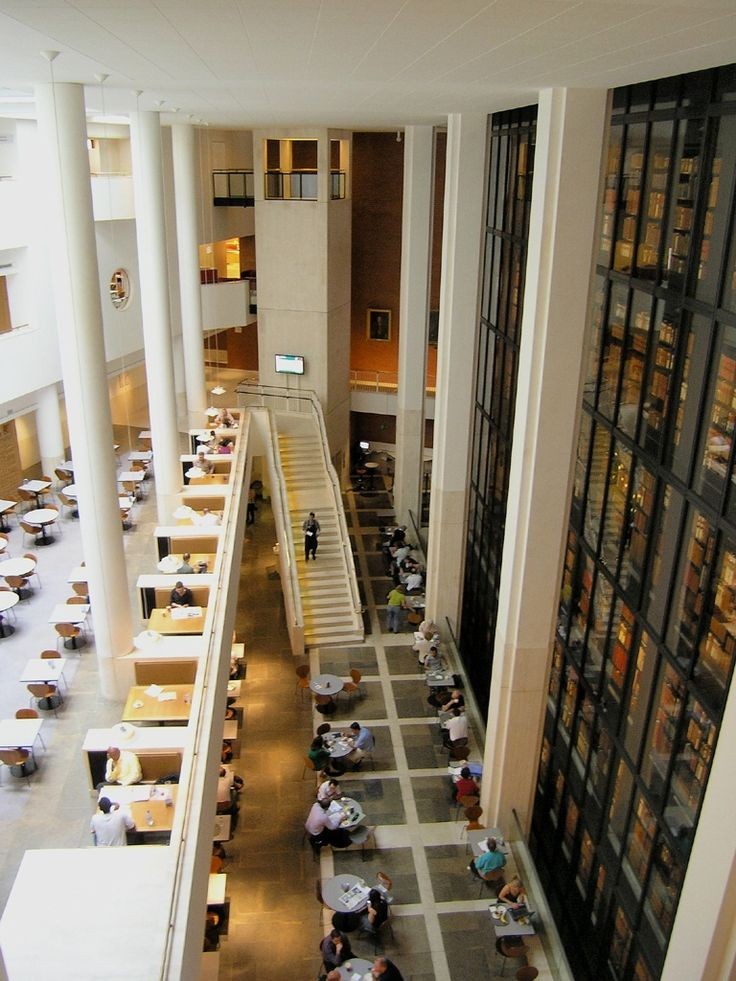 Британская библиотека. © Pavel Culek (http://www.panoramio.com/user/4801171?with_photo_id=43948324). #Library #Libraries