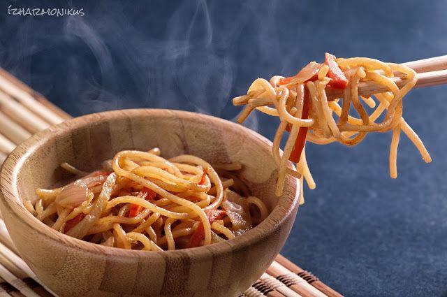 ízharmonikus: Kínai pirított tészta