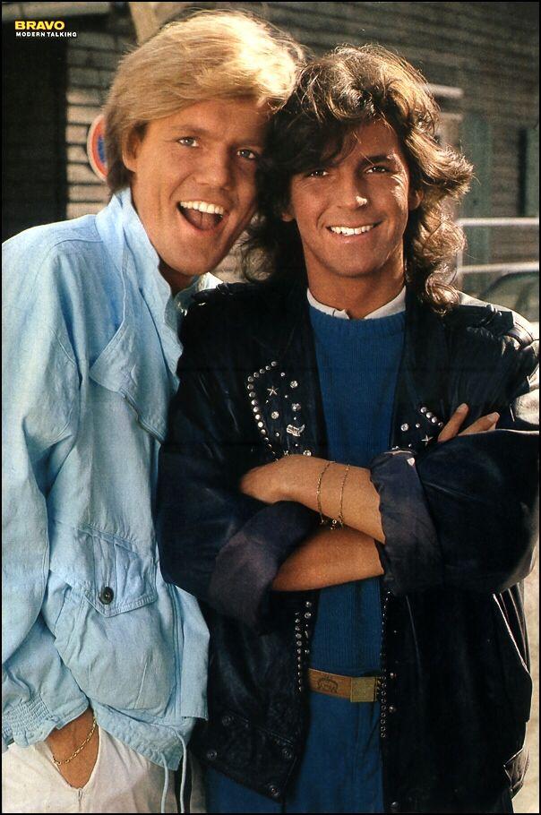 Modern Talking - Double Poster - BRAVO #15 - 04.04.1985