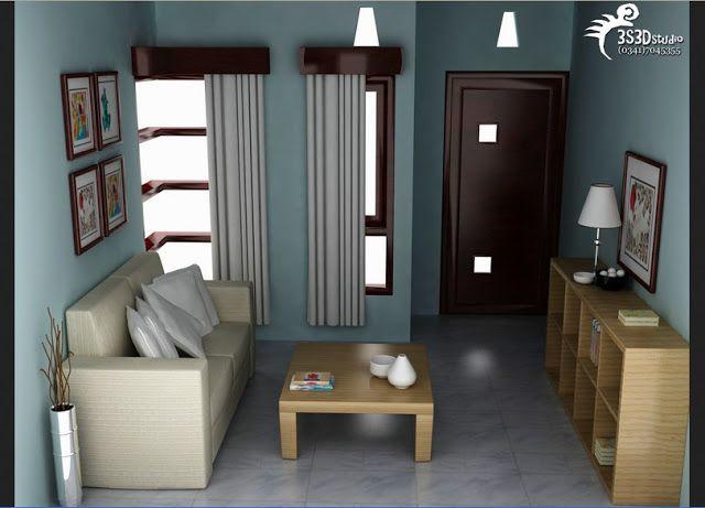 Contoh Desain Ruang Tamu Minimalis Ukuran 2x3 Di 2020 Ruang Tamu Rumah Desain Interior Rumah Minimalis