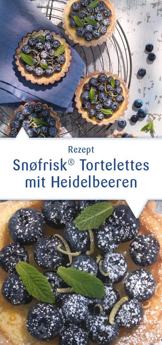 Leckere, sommerliche Törtchen mit Snøfrisk Ziegenfrischkäse aus Norwegen! Die machen schon optisch was her: Dunkelblaue Heidelbeeren bilden einen reizvollen Kontrast zu schneeweißem Snøfrisk. So köstlich, lieber gleich ein paar mehr backen. Dieses Rezept und viele weitere Ideen mit Snøfrisk gibt es auf unserer Website: http://www.snofrisk.de/rezepte.php?rezept=snofrisk-heidelbeer-tortelettes