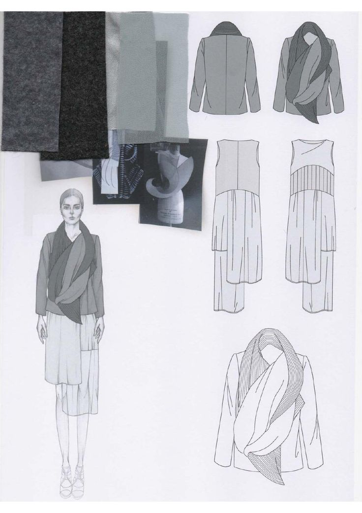 Fashion Sketchbook - fashion design development; fashion illustration; mood research; fashion portfolio // Emily-Mei Cross