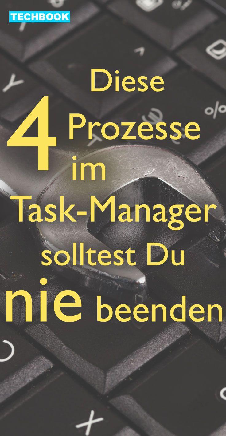 Beim Schließen von Tasks im Task-Manager müssen Sie aufpassen Foto: Getty Images Fast jeder kennt den Task-Manager, doch nur wenige wissen, wofür die ganzen Prozesse eigentlich zuständig sind. Hier sind die 4 wichtigsten System-Tasks, die Sie nicht beenden sollten, da sonst der PC abstürzt.