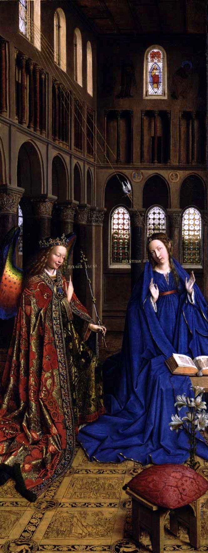 Annunciation by Jan Van Eyck, 1434