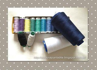 Explicación detallada de cada tipo de hilo de coser y para qué uso es mejor cada uno.