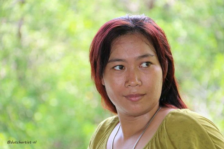 Model Lenny Balinese woman.