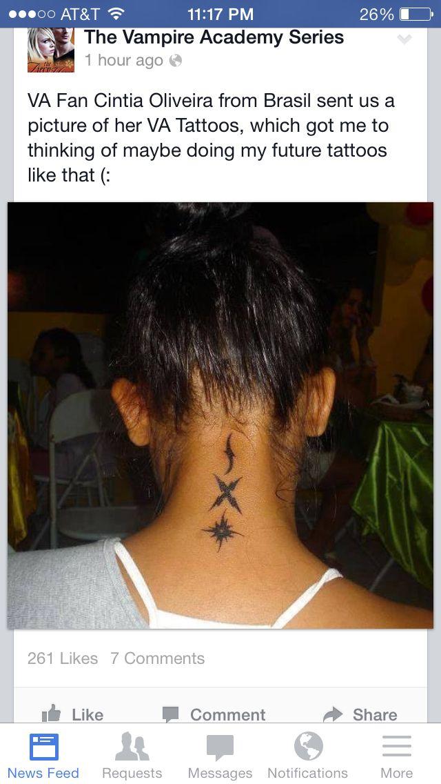 Vampire academy tattoo