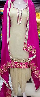 Ethnic Bollywood Designer Punjabi Patiala Indian Salwar Kameez Wedding Suit | eBay