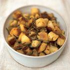 Een heerlijk recept: Jamie Oliver: aardappelen met rozemarijn uit de oven