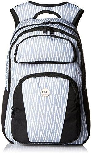 Roxy Junior's Drive Out Polyester Backpack, Chevron Seaspray