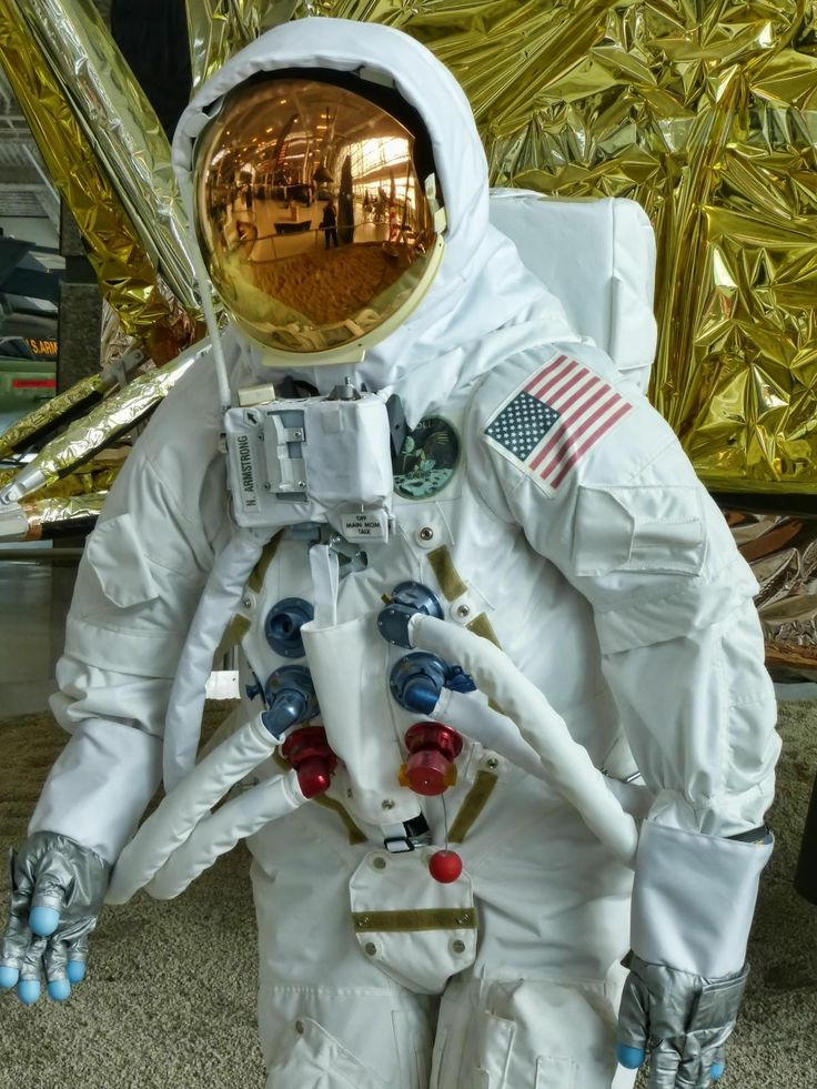 astronauts space suits cooling system - photo #40