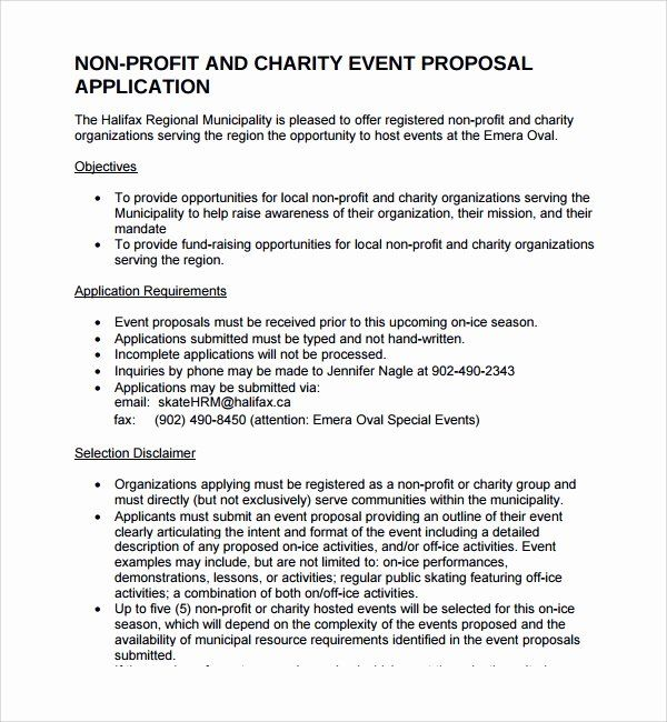 Non Profit Proposal Template In 2020 Business Plan Template Free