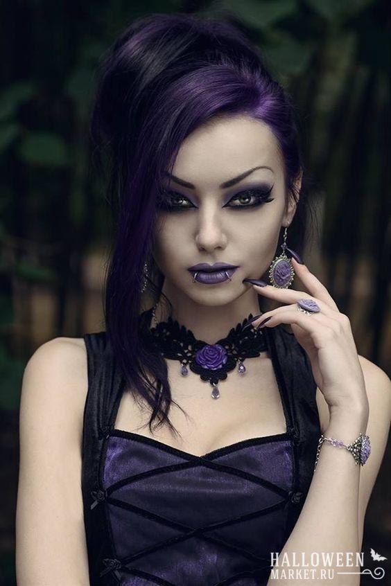 Создать образ сексуальной вампирши
