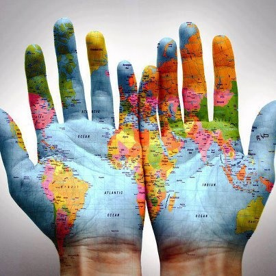 """The most incomprehensible thing about the world is that it is at all comprehensible.""  Albert EinsteinGlobes, Hands, World Maps, Places, Travel, Photography, Filip Bartos, The World, World"