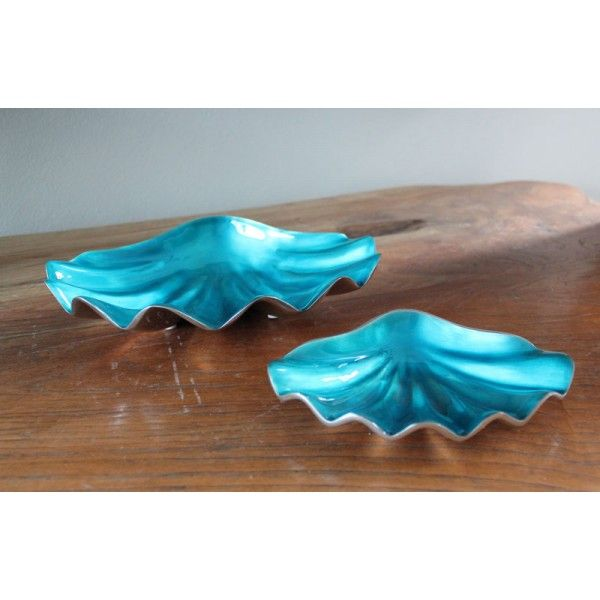 Turquoise Shell Dish   Turquoise Home Decor