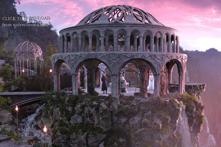 "Rivendell. From ""Hobbit: An Unexpected Journey"""