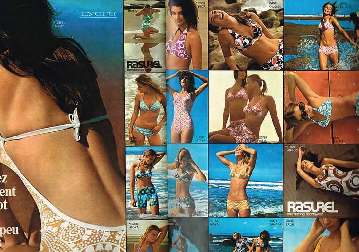 Advertising Rasurel Swimwear 1970 DE Bain '2 Pages | eBay