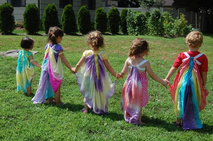 Silk Fairy Wings :)