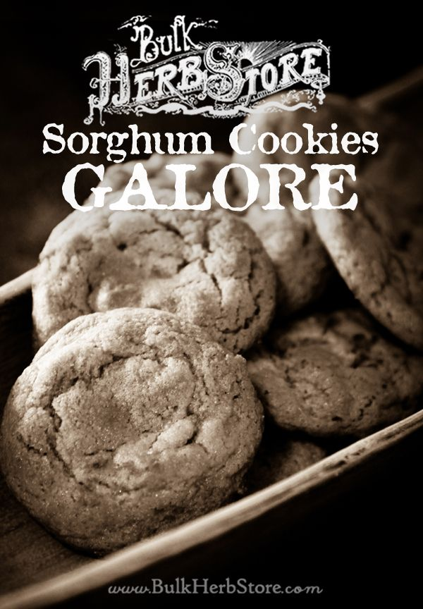 Sorghum Cookies Recipe - Bulk Herb Store Blog